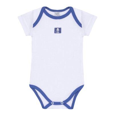 Imagem 2 do produto Body curto com Shorts em high comfort Dalmatians Blue - Vicky Lipe - 18280001.37 CONJ.BODY C/SHORTS - SUEDINE-P