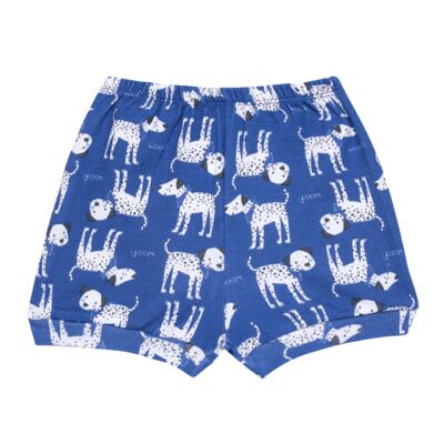 Imagem 3 do produto Body curto com Shorts em high comfort Dalmatians Blue - Vicky Lipe - 18280001.37 CONJ.BODY C/SHORTS - SUEDINE-P