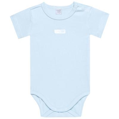 Imagem 2 do produto Body curto com Shorts em suedine Azul - Vicky Lipe