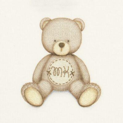 Imagem 2 do produto Body curto para bebe em Pima Cotton Supreme Prime Bear Marfim - Mini & Kids - BDMC0001.65 BODY MANGA CURTA - SUEDINE-RN