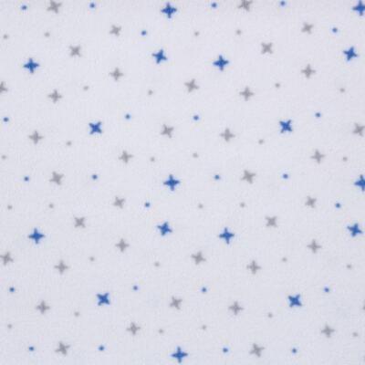 Imagem 2 do produto Manta para bebe em microsoft Blue Stars - Dedeka - DDK16587/E114 Manta Microsoft Estrela Azul
