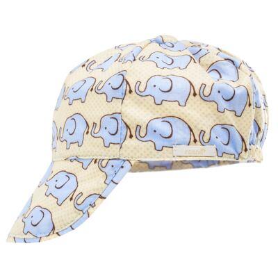 Imagem 3 do produto Conjunto de banho para bebê Little Elephant: Cobre Fralda + Boné - Roana - BSM00883005 BANHO DE SOL ELEFANTINHO BEGE-G