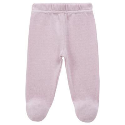 Imagem 5 do produto Vestido longo c/ Calça para bebe em tricot Anabel - Mini Sailor - 17954264 VESTIDO COM MIJAO TRICOT ROSA BEBE-9-12