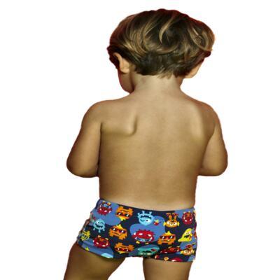Imagem 2 do produto Sunga boxer para bebe em lycra Monstrinhos - Puket