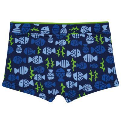 Imagem 3 do produto Conjunto de Banho Peixinhos: Camiseta + Sunga - Cara de Criança - KIT 1 2618: SB2618 + CCA2618 SUNGA E CAMISETA PEIXINHOS-6