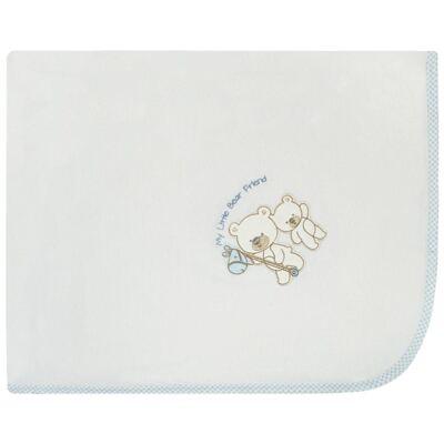 Imagem 1 do produto Manta forrada em malha Ursinho - Classic for Baby - MMB104 MANTA FORRADA MALHA URSINHO