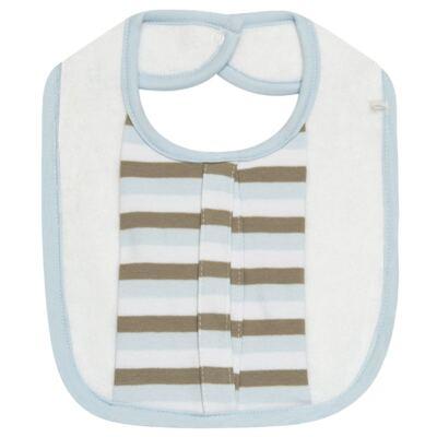 Imagem 3 do produto Babador com bolsinho em Pima Cotton Supreme - Toffee