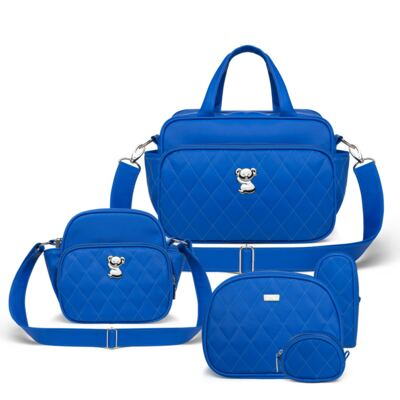 Imagem 1 do produto Kit Acessórios para bebe + Bolsa Viagem + Frasqueira Térmica Colors Klein - Classic for Baby Bags