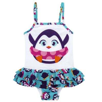 Imagem 4 do produto Conjunto de banho Pinguim: Camiseta + Maiô - Puket - KIT PK PINGUIM Camiseta + Maio Pinguim Puket-8