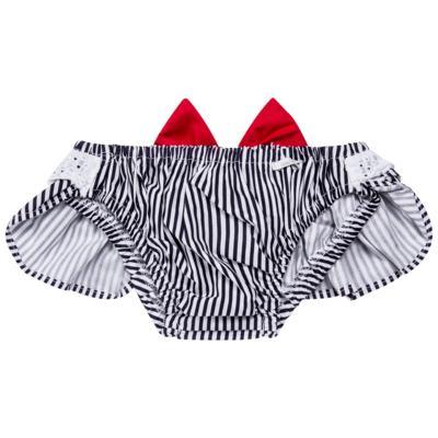 Imagem 2 do produto Conjunto de banho para bebê Sailor: Bumbum + Faixa de Cabelo - Roana - BAST0901008 BANHO DESOL TURBANTE 124 MARINHO-P