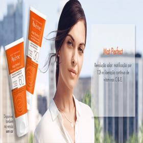 Protetor Solar Facial Avéne Mat Perfect - FPS 30,50mL