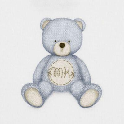 Imagem 2 do produto Body curto para bebe em Pima Cotton Supreme Prime Bear Branco - Mini & Kids - BDMC0001.64 BODY MANGA CURTA - SUEDINE-G