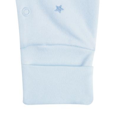 """Imagem 3 do produto Macacão longo c/ abertura """"S"""" para bebe em algodão egípcio Prince Bear - Mini & Classic - 2004656 MACACAO S C/ PE REVERSIVEL SUEDINE URSO-RN"""