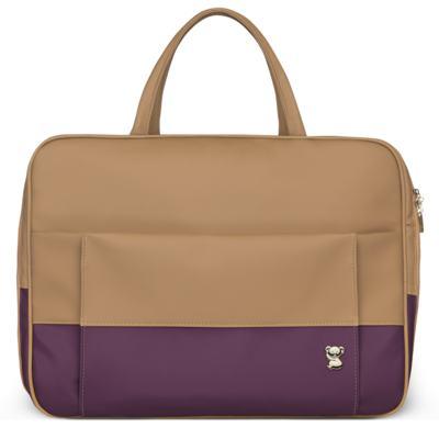 Imagem 2 do produto Mala Maternidade para bebe + Bolsa Genebra + Frasqueira Térmica Zurique Due Colore Uva - Classic for Baby Bags