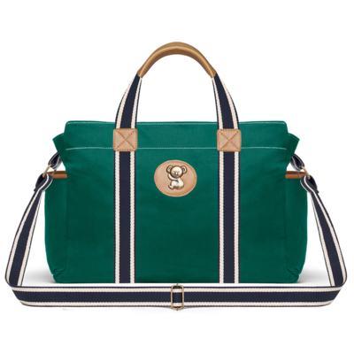 Imagem 3 do produto Bolsa Passeio para bebe + Bolsa Albany + Frasqueira Térmica Gold Coast em sarja Adventure Verde Oliva - Classic for Baby Bags