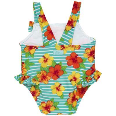 Imagem 2 do produto Maiô em lycra Tropical - Tilly Baby - TB166805 MAIO FLORAL-M
