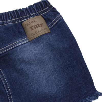 Imagem 2 do produto Shorts para bebê jeans Destroyed - Tilly Baby - TB168000 SHORT JEANS FEMININO-M