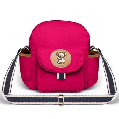 Imagem 3 do produto Mochila maternidade + Frasqueira térmica Adventure em sarja Pink - Classic for Baby Bags