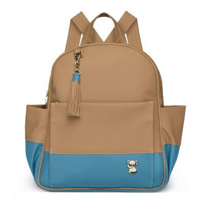 Imagem 1 do produto Mochila maternidade Davos Due Colore Turquesa  - Classic for Baby Bags - MDCF9095 MOCHILA VIAG DAVOS  KROYBAG CAM/TURQ