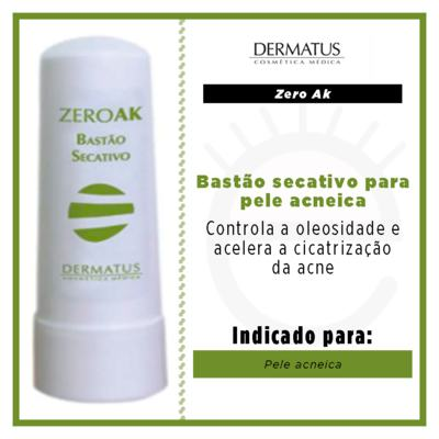 Imagem 3 do produto Zero Ak Bastão Secativo Dermatus - Pele Acneica - 4g