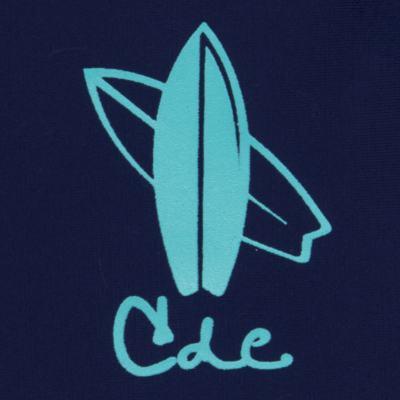 Imagem 2 do produto Camiseta Surfista em lycra FPS 50 Marinho - Cara de Criança - CSAL2576 PRANCHA BLUE CSAL CAMISETA SURF AGUA LONGO LYCRA-1