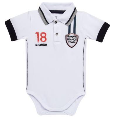 Imagem 1 do produto Body polo para bebe em cotton Racing - Mini & Classic - BDBP669 BODY POLO COTTON GRAND PRIX-G