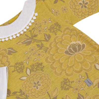 Imagem 2 do produto Macacão com golinha para bebe em malha Spring Garden - Green - G5100810.300 MACACAO PAZ G AMARELO-P
