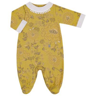 Imagem 1 do produto Macacão com golinha para bebe em malha Spring Garden - Green - G5100810.300 MACACAO PAZ G AMARELO-M