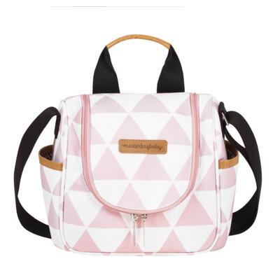 Imagem 3 do produto Bolsa 4 em 1 Sofia + Frasqueira térmica Emy Manhattan Rosa - Masterbag