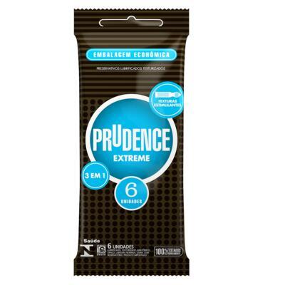 Imagem 1 do produto Prudence Preservativo Extreme 6 Unidades