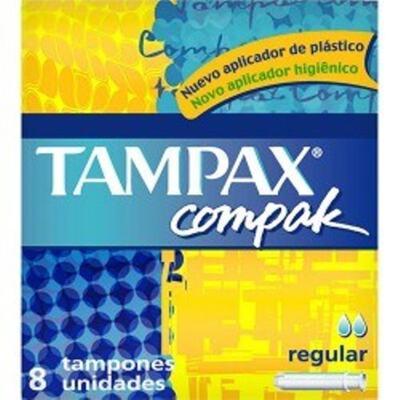 Imagem 2 do produto Kit 4 Absorvente Interno Tampax Compak Regular 32 Unidades