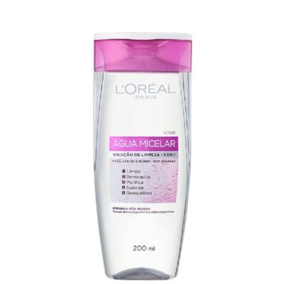 Imagem 3 do produto Kit L'Oréal Água Micelar 200ml + Creme Antissinais Idade Expert 45+ 40ml