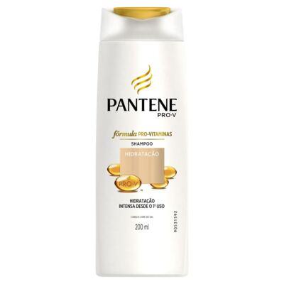 Imagem 2 do produto Kit Pantene Hidratação Shampoo 200ml + Condicionador 3 Minutos Milagrosos 170ml
