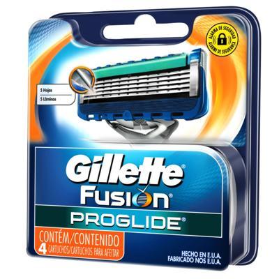 Imagem 3 do produto Aparelho de Barbear Gillette Fusion Proglide Flexball + Carga com 4 Unidades