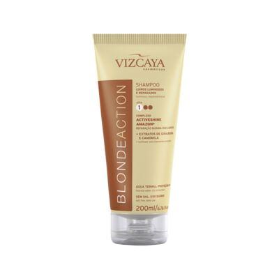 Imagem 2 do produto Kit Vizcaya Blonde Action Shampoo 200ml + Condicionador 200ml