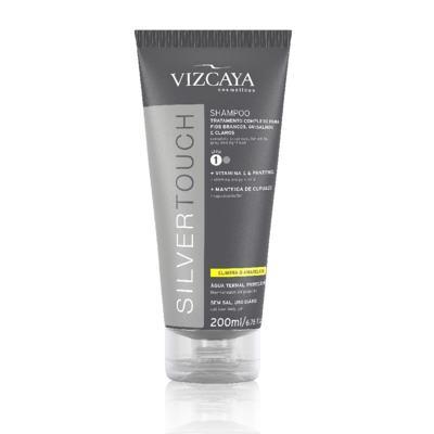 Imagem 2 do produto Shampoo Vizcaya Silver Touch 200ml + Condicionador Vizcaya Silver Touch 200ml