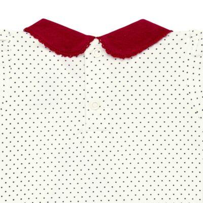 Imagem 3 do produto Body curto para bebe em cotton algodão egípcio Love Cute - Mini & Kids - BDGC0001.233 BODY M/C C/GOLA - COTTON-M