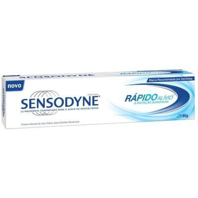 Imagem 2 do produto Kit Creme Dental Sensodyne Rápido Alívio 90g 3 Unidades