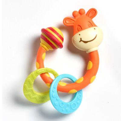 Imagem 1 do produto Meu Primeiro Chocalho Mordedor Girafinha  (0m+) - Tiny Love - D0214 Mordedor Girafa (0m+)