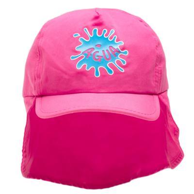Imagem 1 do produto Boné c/ proteção em microfibra Pink - Cara de Criança - CH1316 BONE PINK CH CHAPEU PRAIA POLIESTER-G