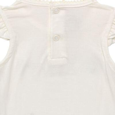 Imagem 4 do produto Blusinha com Calcinha Saia para bebe em viscolycra Butterflies - Baby Classic - 20521628 BLUSINHA M/C C/ SAIA VISCOLYCRA BUTTERFLY -2