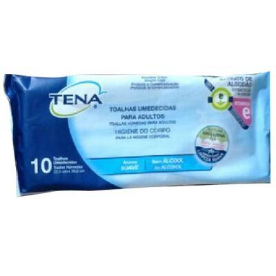 Imagem 1 do produto Toalha Tena Adulto com 10 Unid. - Brinde
