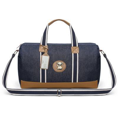 Imagem 2 do produto Bolsa Passeio para bebe + Bolsa +  Frasqueira Térmica Gold Coast + Porta Mamadeira + Trocador + Necessaire Adventure Jeans - Classic for Baby Bags