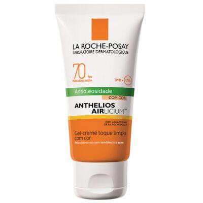 Imagem 3 do produto Kit Protetor Solar Facial La Roche-Posay Anthelios Airlicium Com Cor FPS 70 50g + Necessaire Verão