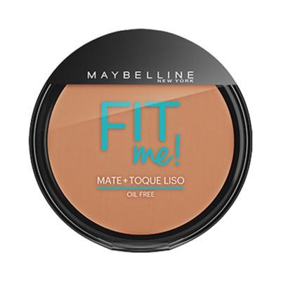Imagem 1 do produto Maybelline Pó Compacto Mate + Toque Liso Fit Me! Cor 210 Médio Verdadeiro