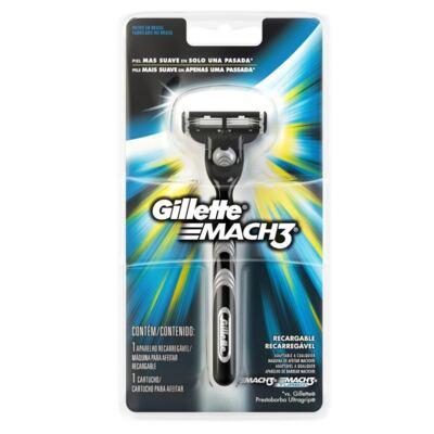 Imagem 1 do produto Aparelho Gillette Mach3 Regular 3 Cargas Edição Olympics