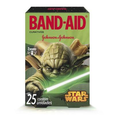 Imagem 1 do produto Curativo Band-Aid Star Wars Johnson´s 25 Unidades