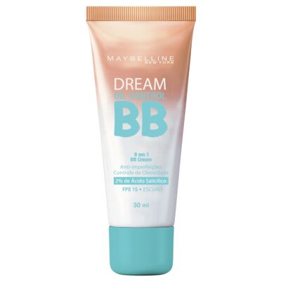 Imagem 1 do produto Base Maybelline BB Cream Dream Oil Control FPS15 Escuro 30ml