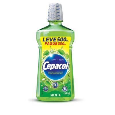 Imagem 1 do produto Enxaguante Bucal Cepacol Menta 500ml