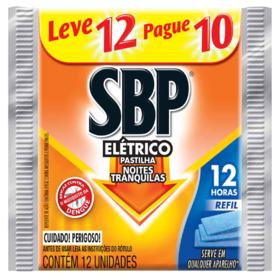 Pastilhas SBP Refil - 12 Horas | 12 unidades